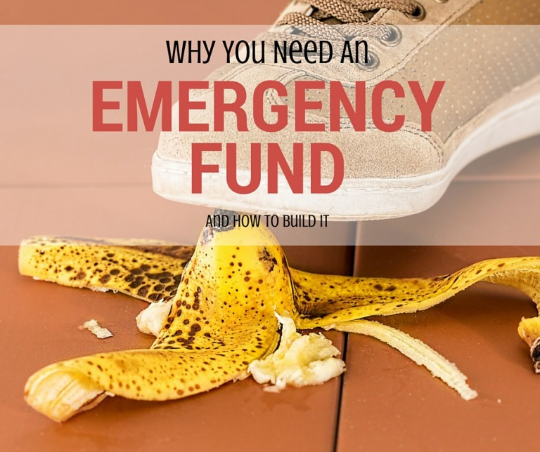 Why You Need an Emergency Fund Already